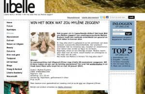 Mylene Ruyters in de Libelle   week 3 2013