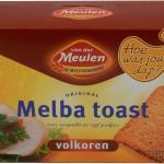 melba toast aangeraden door GCN
